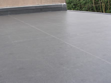 Supply and fit of Rubber Flat Roof Covering.